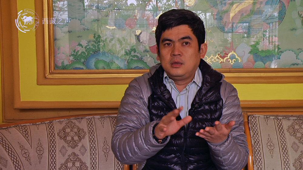 达赖喇嘛尊者的华语翻译蒋扬仁钦