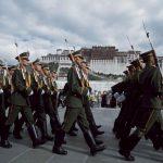 """""""西藏自治区""""外藏地民众在首都拉萨面领更大限制管控"""