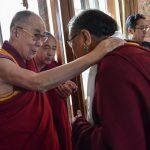 达赖喇嘛结束印南行程今天抵达佛教圣地菩提迦耶