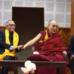 达赖喇嘛结束对比哈尔邦的行程,并于今天上午返回新德里
