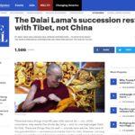 海外中国民运人士:中共无权干预达赖喇嘛转世权