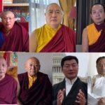 藏历2147铁鼠新年西藏宗教上师与政治领袖的贺词