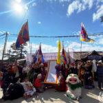 西藏团体于达兰萨拉游行庆祝《西藏独立宣言》公布107周年