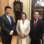 藏人行政中央司政洛桑森格正于美国进行访问行程