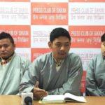 藏青会锡金分会于西藏抗暴日,以摩托车巡游纪念抗争藏人