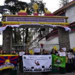"""流亡藏人在达兰萨拉纪念""""西藏妇女抗暴起义六十一周年"""""""