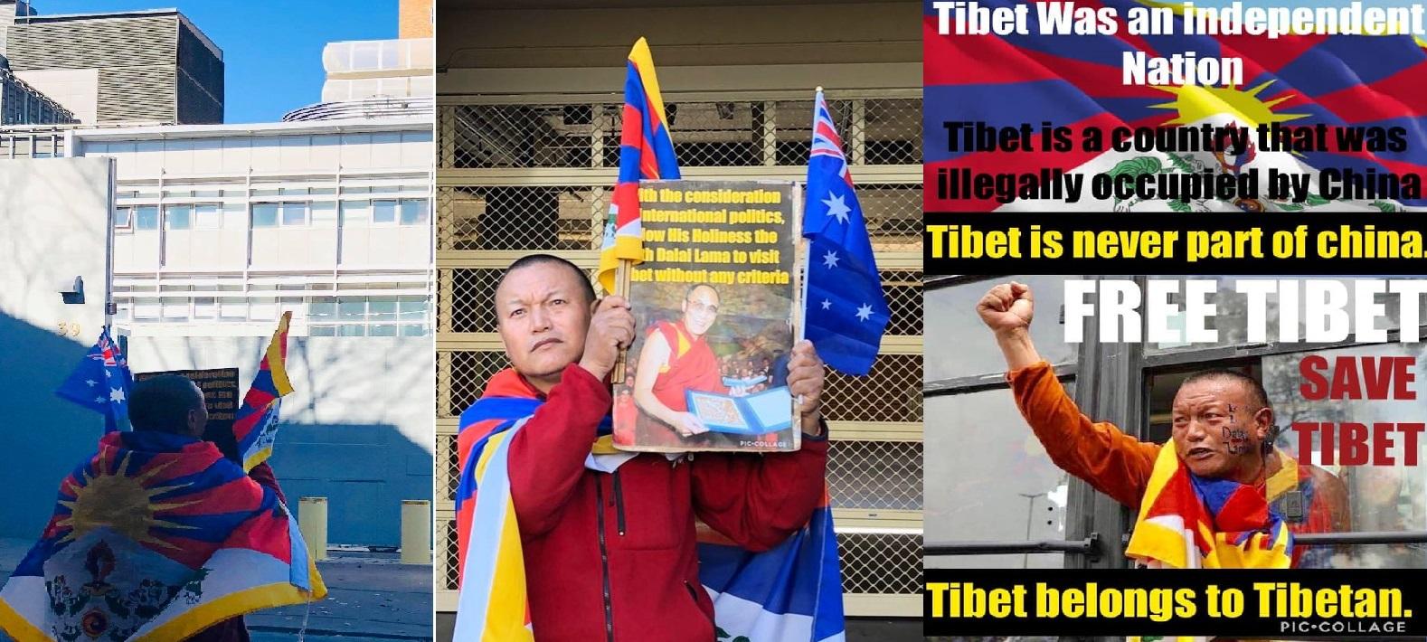 西藏前政治犯僧侣巴卓承诺将为西藏事业贡献他的一生