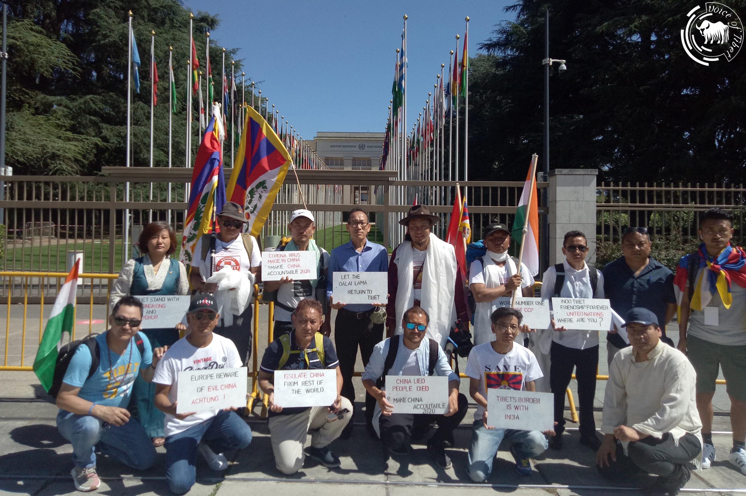 瑞士流亡藏人徒步游行圆满结束,并呼吁藏人为西藏事业尽责尽力