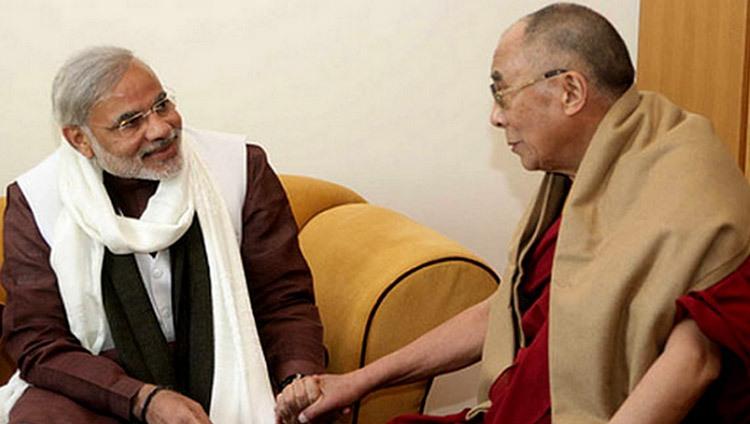 达赖喇嘛致函祝贺印度总理莫迪七十华诞