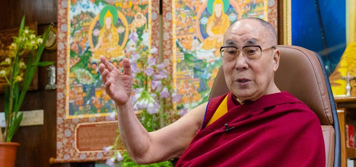 达赖喇嘛:人类不应让少数人的贪心毁掉共同的文明