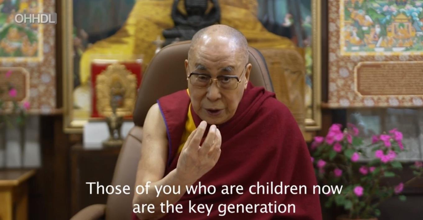 达赖喇嘛:孩子为创造真正世界和平的关键
