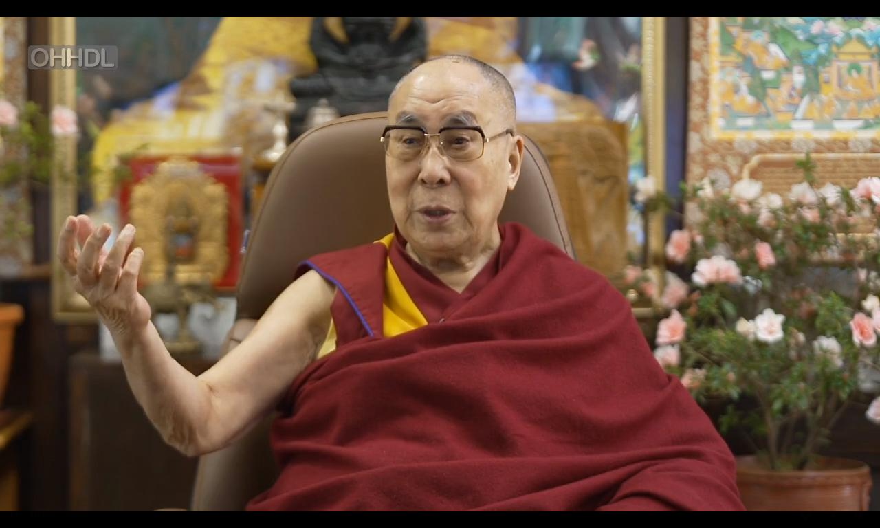 达赖喇嘛:以世俗方式推动慈悲心与非暴力,将使社会变得更加完善