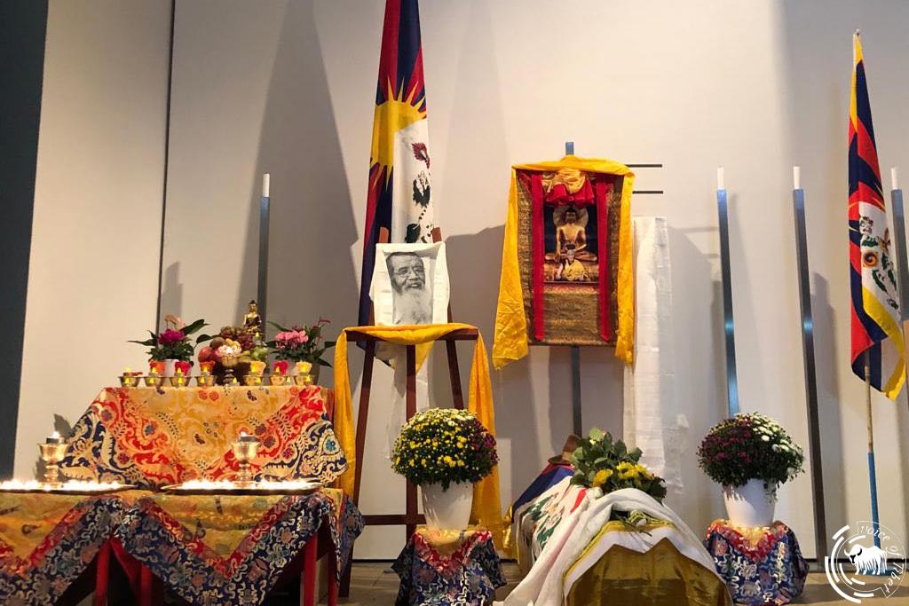 西藏前政治犯达那•晋美桑布的遗体于今日在瑞士火化