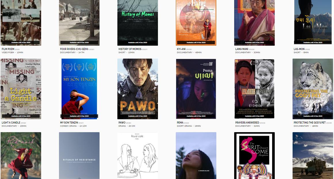 流亡藏人举办线上放映活动,为推广三十部西藏电影