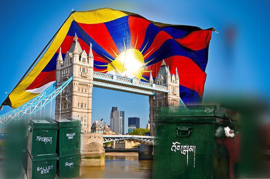 因受变种新冠病毒的影响,英国流亡藏人投票时间延长至两天
