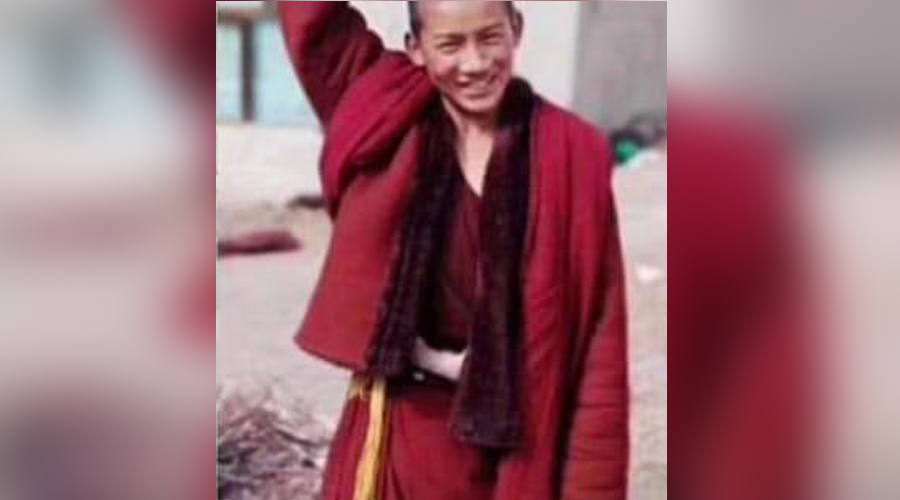 石渠县温波寺僧侣丹增尼玛遭中共拘押期间不幸逝世