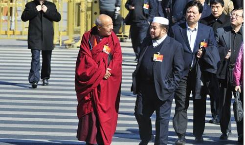 """中共为展开""""宗教中国化""""发布《宗教教职人员管理办法》"""