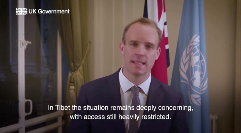 英国代表在联合国人权理事会披露中共恶劣人权状况