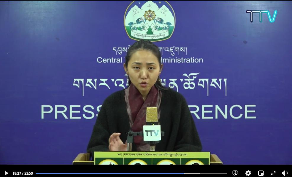 藏人行政中央卫生部建议各藏人学校做好疫情防护