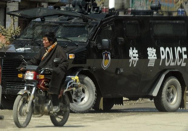 中共当局在藏历新年前加强限制西藏果洛地区