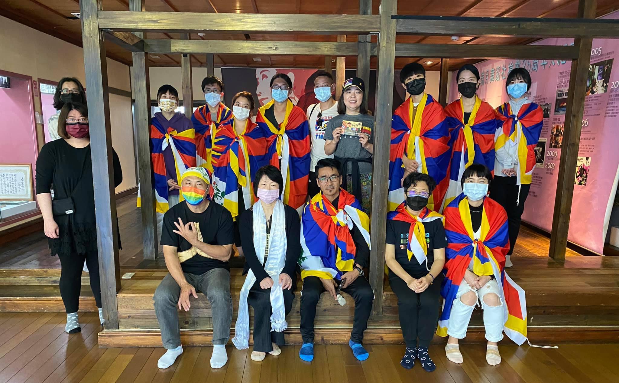 为西藏自由而骑于二二八前夕骑行:认识西藏也了解台湾
