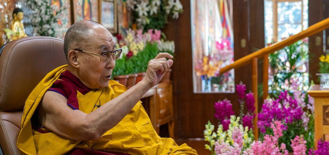 达赖喇嘛:爱他心是一切善德的根源