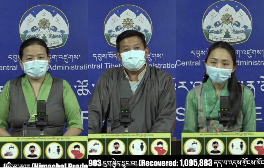 藏人行政中央再度向印度政府捐款以助大众度过疫情的难关