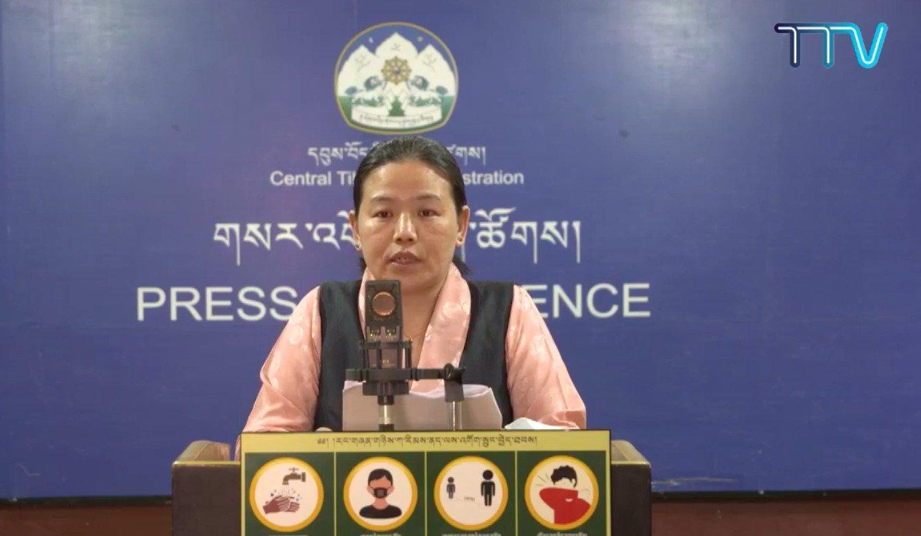流亡藏人社区在过去一周内新增一百零九例确诊病例