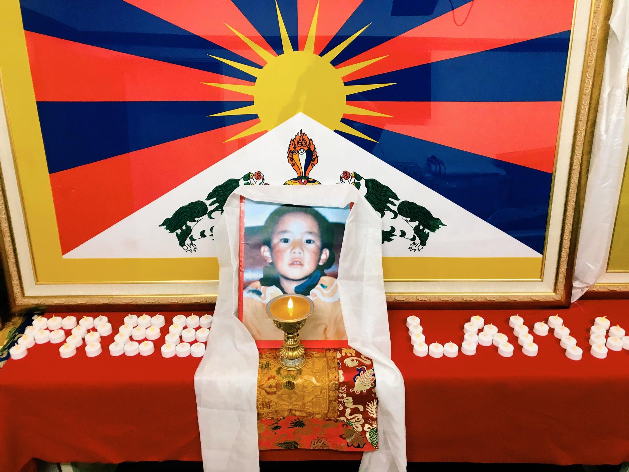 全世界纪念班禅喇嘛根敦确吉尼玛遭中共劫持26周年