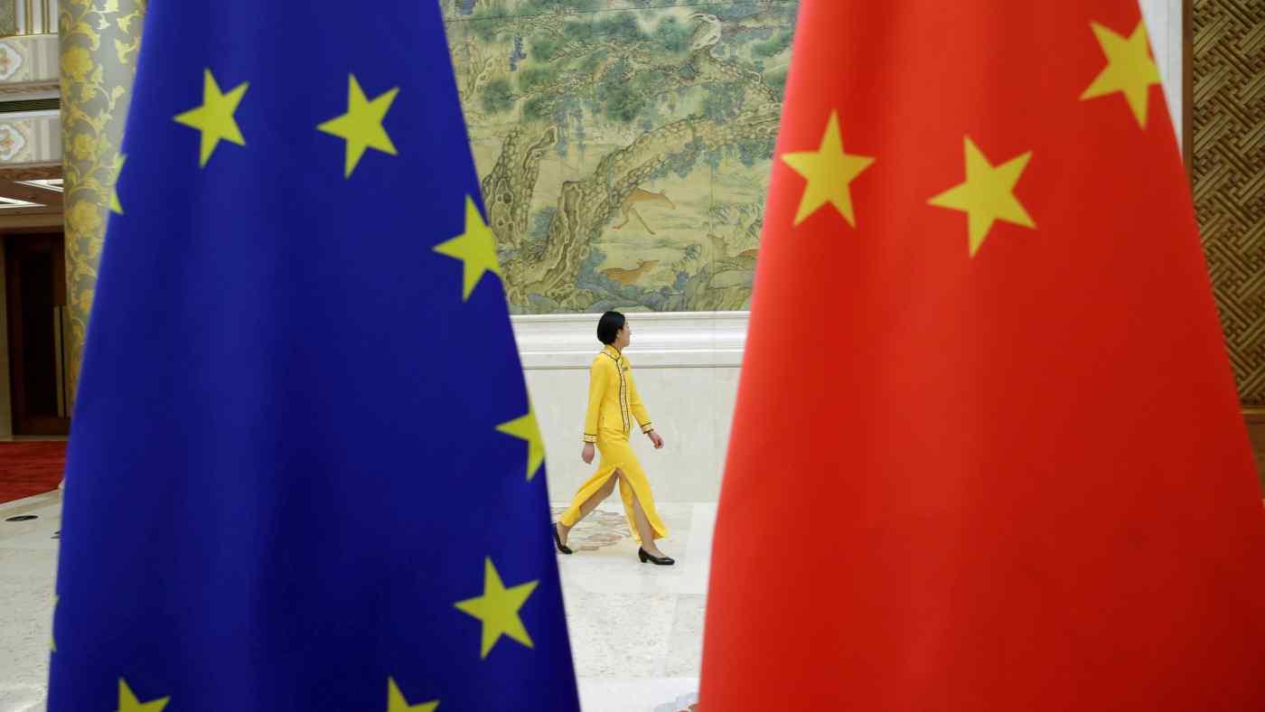 欧洲议会冻结欧中投资协定,要求中共停止制裁欧盟官员