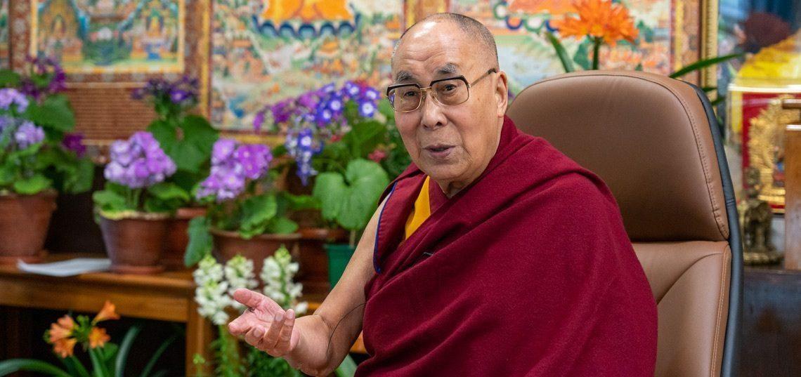 达赖喇嘛尊者与俄罗斯的多名科学家进行交流问答
