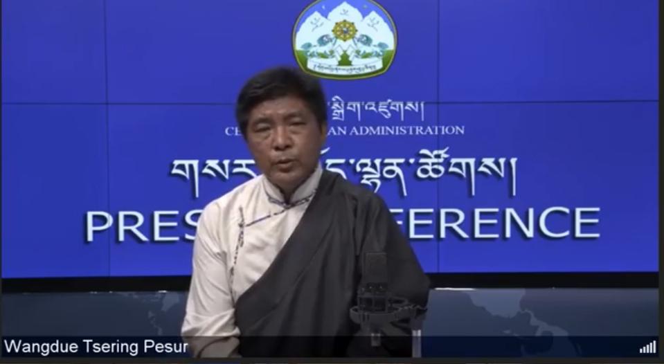 流亡藏人大选公布:边巴次仁高票当选司政