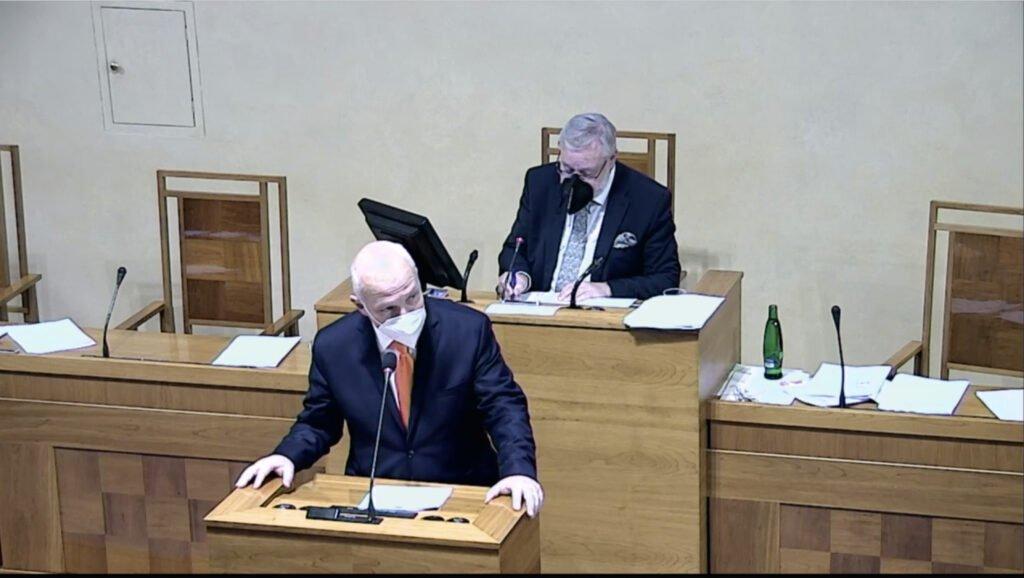 捷克参议院通过决议呼吁政府抵制北京冬奥