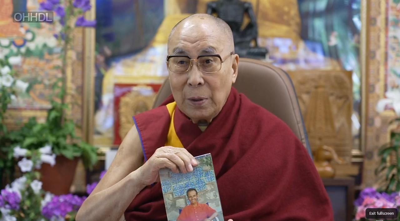 达赖喇嘛:人们既然能够建立欧盟何不建立一个世界联盟