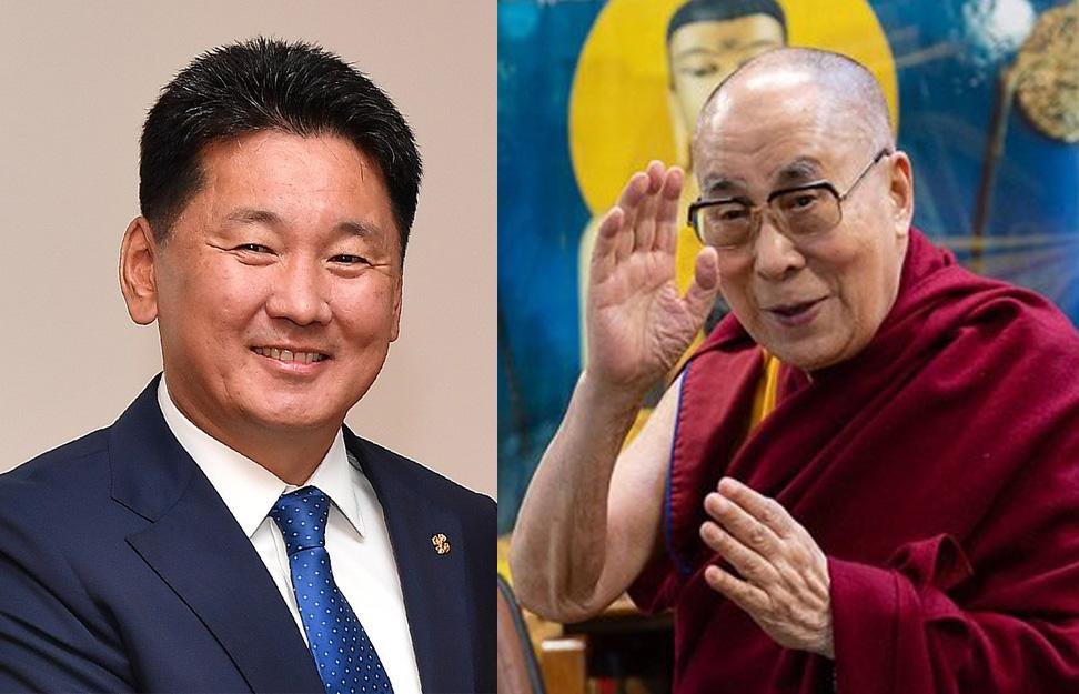 达赖喇嘛致函道贺蒙古国前总理乌赫那·呼日勒苏赫当选总统