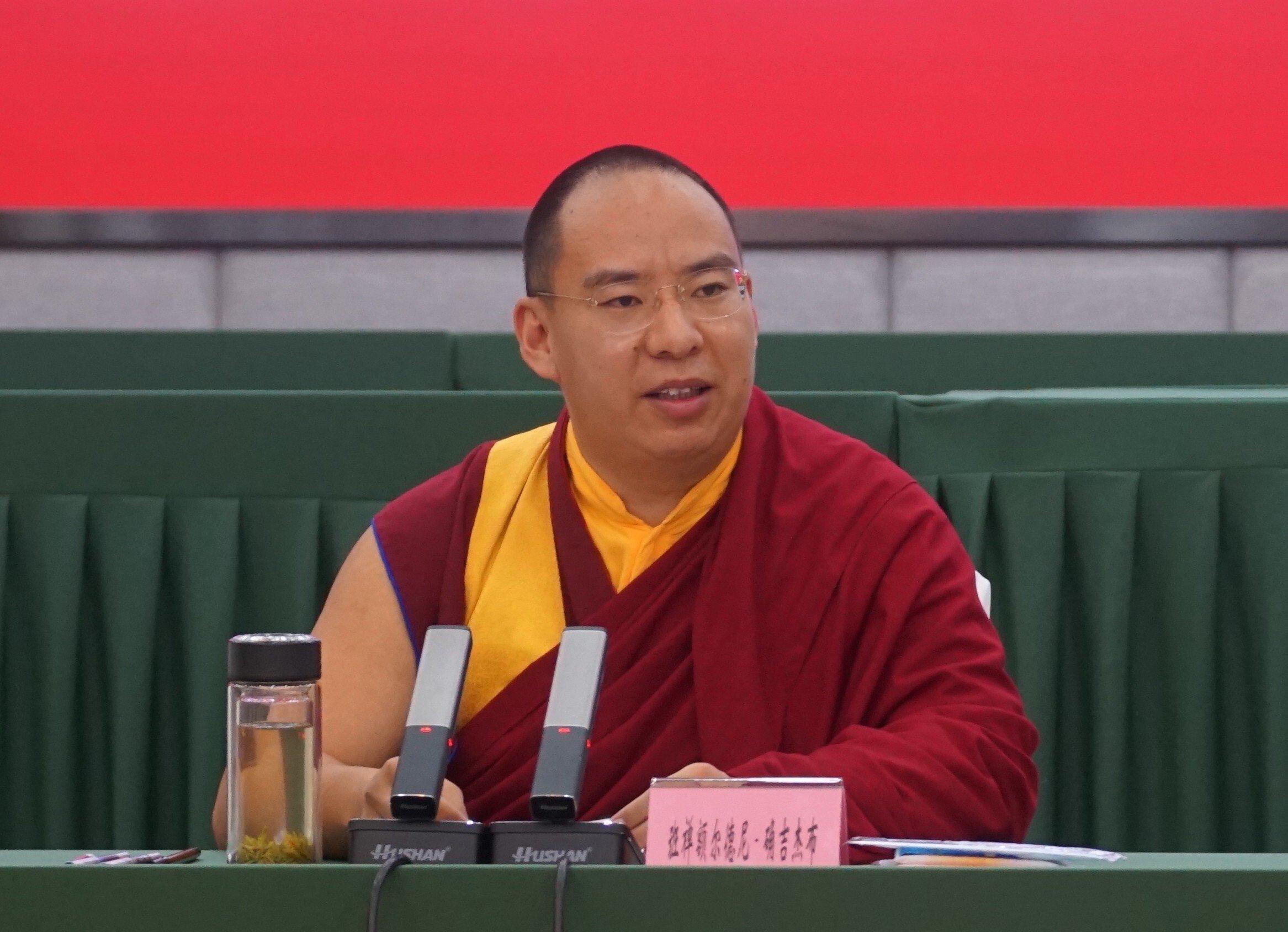 """中共班禅连续两年至藏地访问,称藏传佛教徒应远离""""分裂势力"""""""