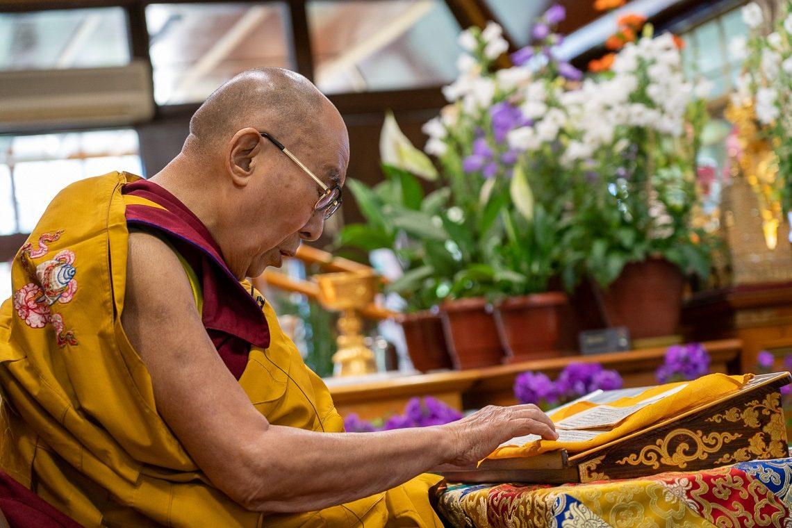 达赖喇嘛尊者将于佛陀初转法轮节传授《发心仪轨》