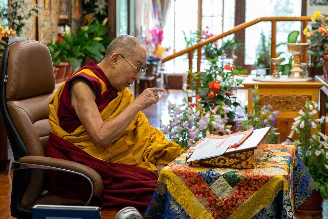 达赖喇嘛:善待他人才能获得最大利益