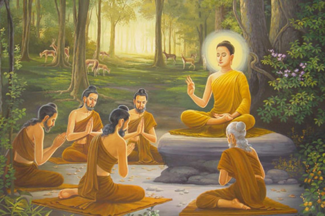 节目重温:佛陀释迦牟尼初转法轮节介绍