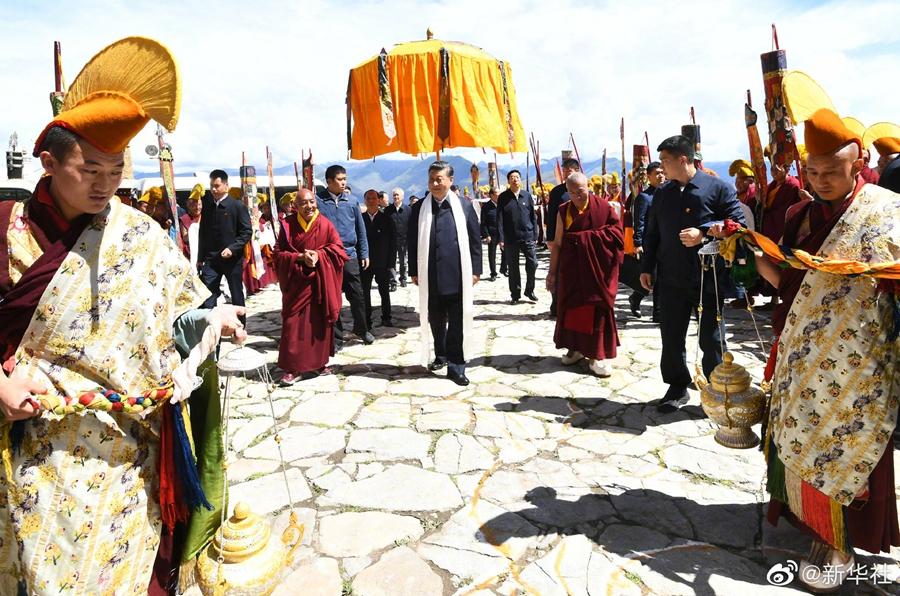 习近平接任中共领导以来首次秘密到访西藏拉萨