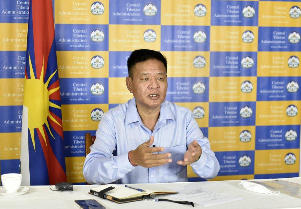 司政边巴次仁首次与藏人行政中央驻外办事处代表举行会议