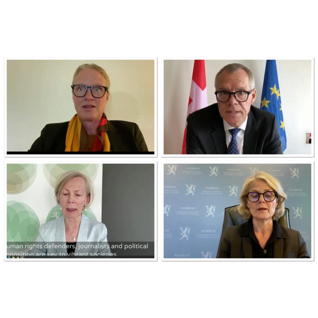 数个国家和人权团体于联合国谴责中共践踏人权恶行