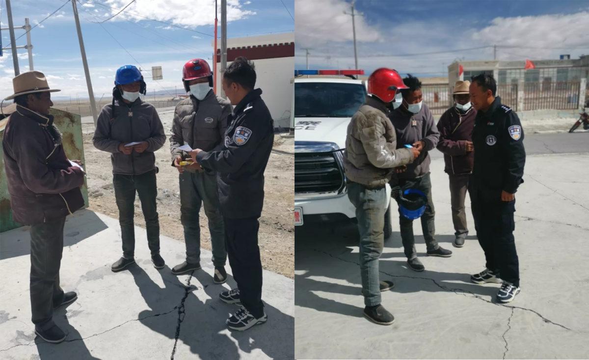 中共于西藏温波镇再捕多人,于阿里强查藏人手机
