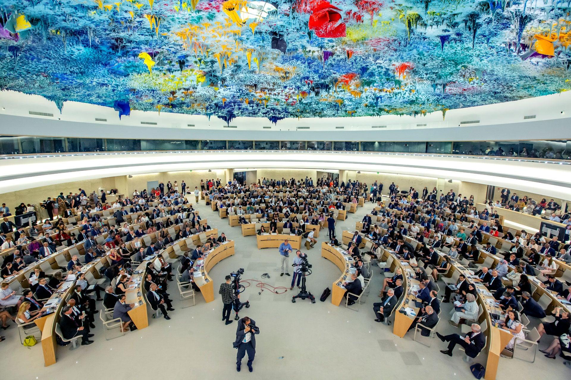 中共在联合国就西藏人权进行歪曲宣传引援藏团体谴责