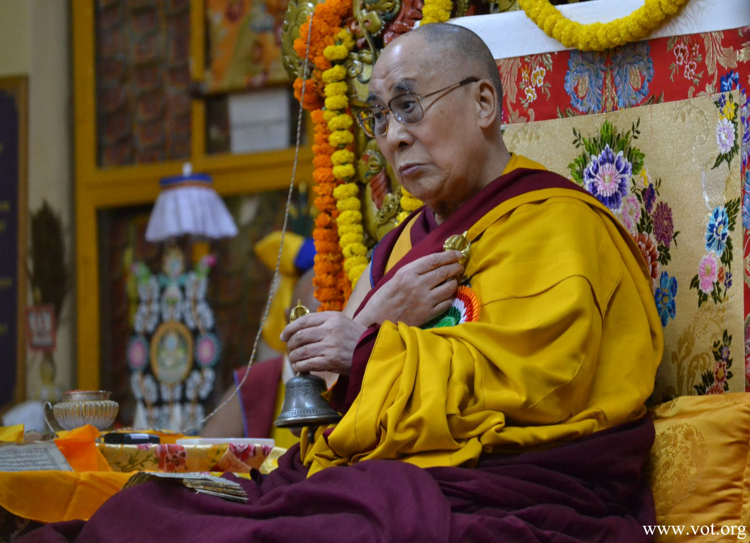 达赖喇嘛致函关切印南喀拉拉洪涝造成的灾害